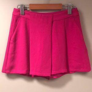 BANANA REPUBLIC Hot Pink Skort